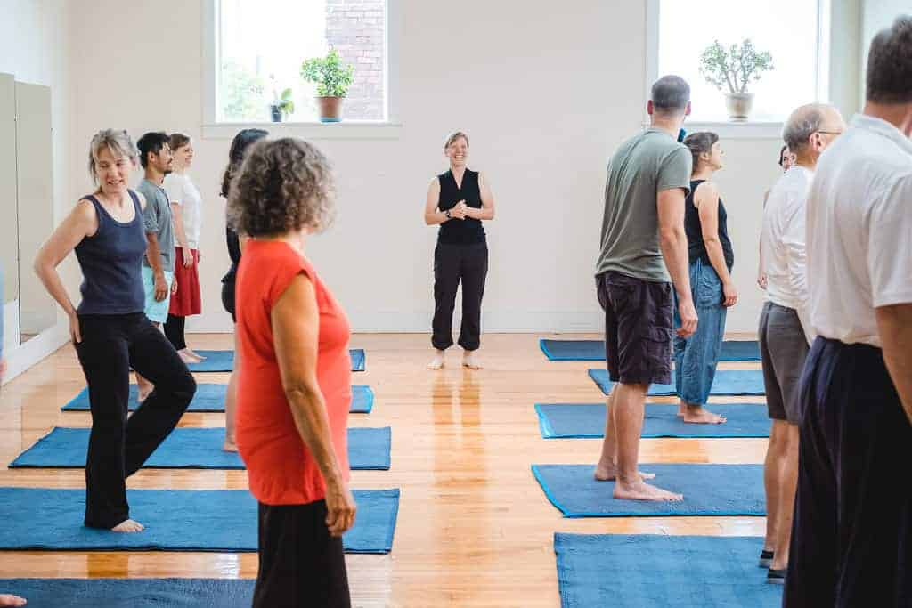 Feldenkrais Awareness Through Movement class