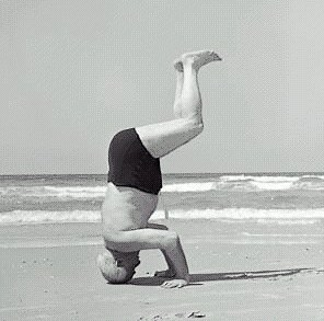 David Ben-Gurion, First Prime Minister of Israel, after lessons with Dr. Feldenkrais