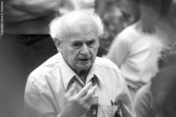 Image of Moshe Feldenkrais